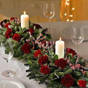 Wandin florist Christmas Centrepiece