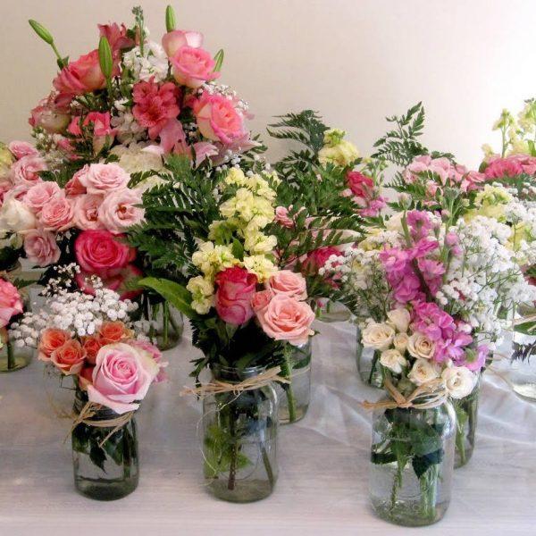 Wandin Florist Mason Jars Hire