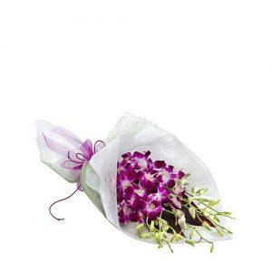 Wandin florist Orchid Wrap Flower Bouquet