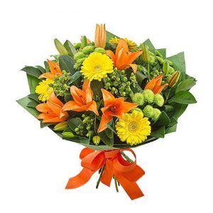 Wandin Florist Sorbet Flower Bouquet
