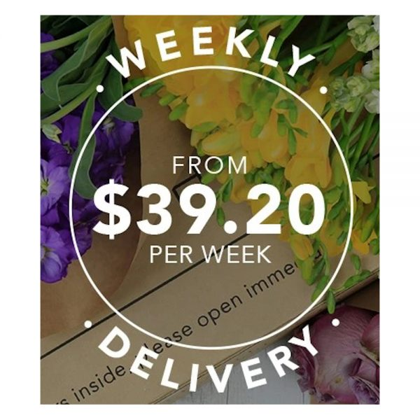 Wandin Florist Subscription Weekly