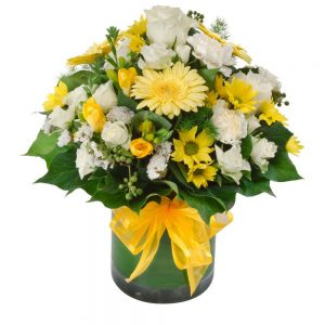 Wandin Florist Sunrise Flower Arrangement