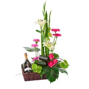Wandin florist Twice As Nice Flower Arrangement
