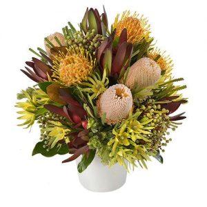 Wandin Florist Banksia Buz Arrangement