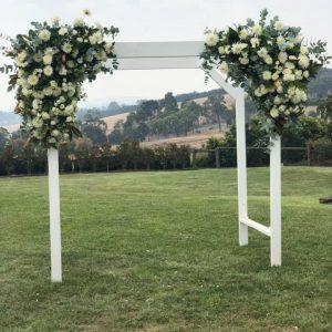 Wedding Arbour Decorations Flowers