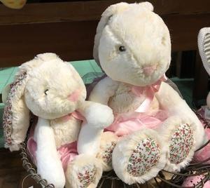 Wandin Florist Plush Floral Rabbits