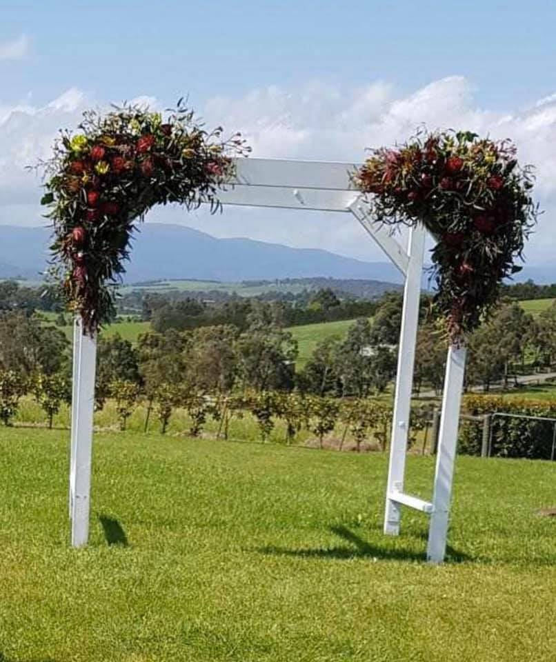 Wedding Arbour Decorations Melbourne