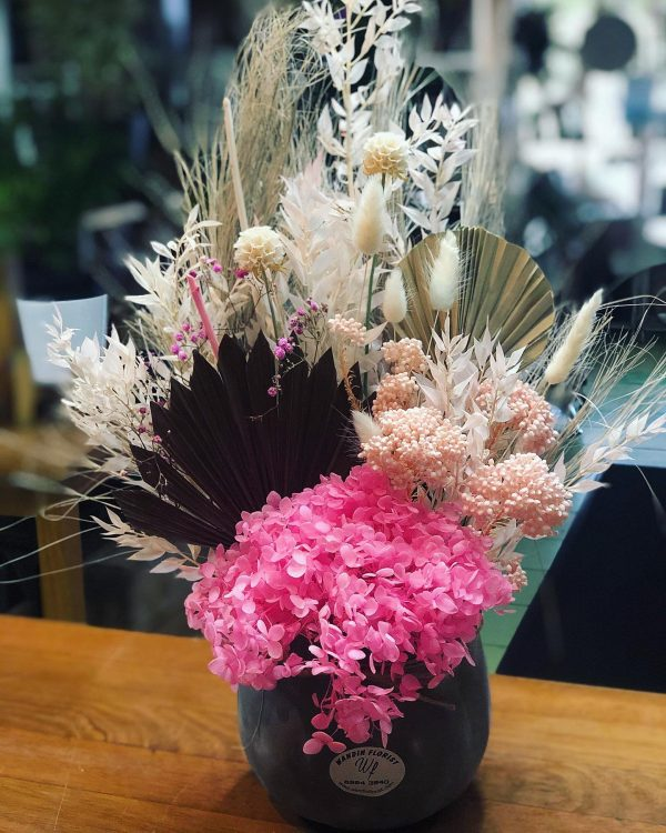 Dried Arrangement Small From Wandin Florist Yarra Valley