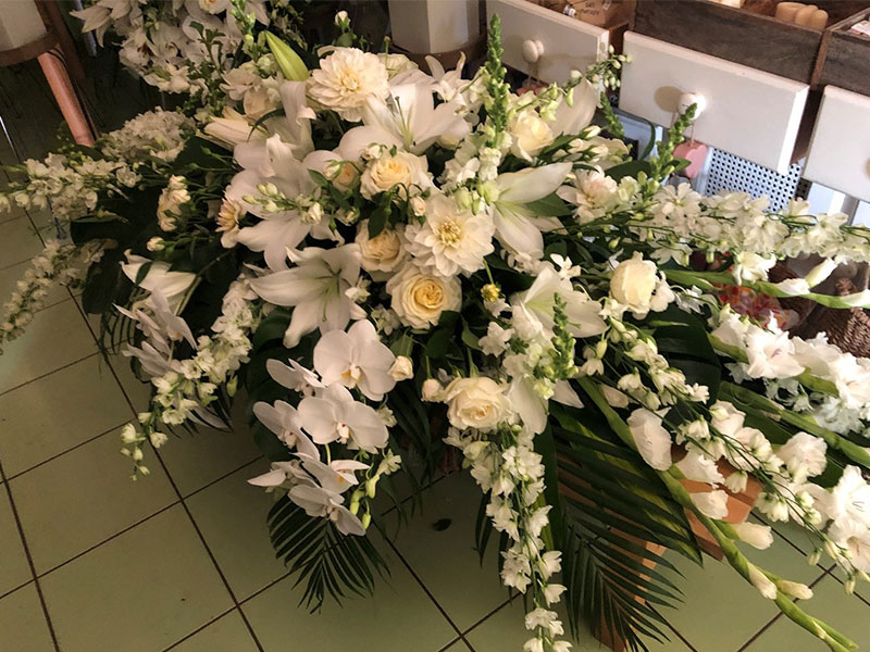 Wandin Florist - Funeral and Sympathy Flower Arrangements