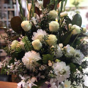 Pure Indulgence White Roses